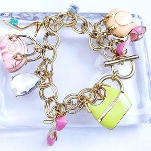 Jewelry - NWOT Purses, Heels, + More Unique Charm Bracelet